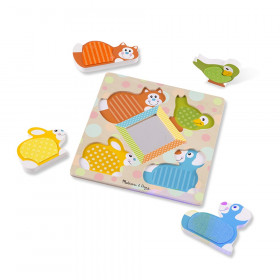 Touch Feel Peek A Boo Pet Puzzle