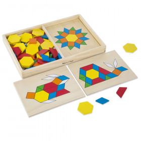Wooden Pattern Blocks & Boards