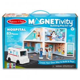 Magnetivity Magnetic Building Play Set: Hospital