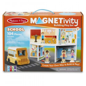 Magnetivity Magnetic Building Play Set: School