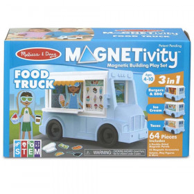 Magnetivity Magnetic Building Play Set: Food Truck