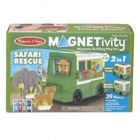 Magnetivity Magnetic Building Play Set: Safari Rescue