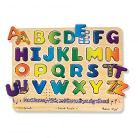 """Alphabet Sound Puzzle, 13.25"""" x 10"""", 26 Pieces"""