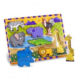 "Safari Chunky Puzzle, 9"" x 12"", 8 Pieces"
