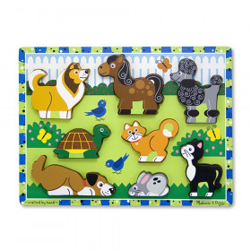 "Pets Chunky Puzzle, 9"" x 12"", 8 Pieces"