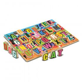 "Jumbo ABC Chunky Puzzle, 12"" x 16"", 26 Pieces"
