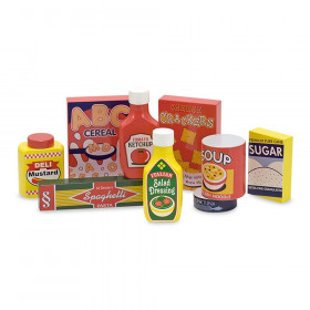 Pantry Food Set - Wooden Play Food, 9 Pieces