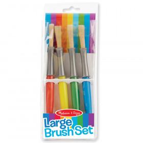 Large Paint Brushes, Set of 4