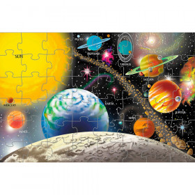 "Solar System Floor Puzzle, 24"" x 36"", 48 Pieces"