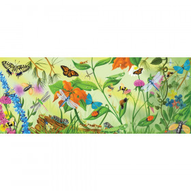 "Bugs Floor Puzzle Bugs, 18.5"" x 46.5"", 24 Pieces"