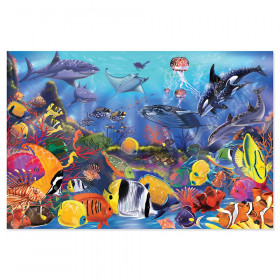 "Underwater Floor Puzzle, 36"" x 24"", 48 Pieces"