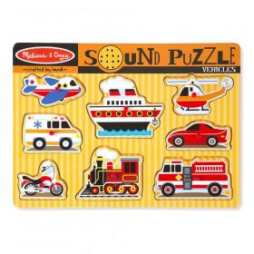 Vehicles Sound Puzzle, 8 Pieces