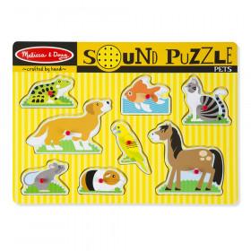 Pets Sound Puzzle, 8 Pieces