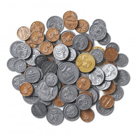 Treasury Coin Assortment 460/Pk Set Plastic Realistic