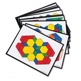 Intermediate Pattern Block Design Cards, 36/pkg