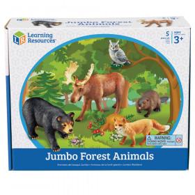 Jumbo Forest Animals, Set of 5