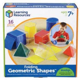 Folding Geometric Shapes, Pack of 16