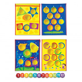 Smart Toss Colors, Shapes & Numbers Bean Bag Tossing Game