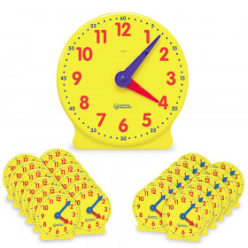 Big Time Learning Clock Classroom Kit