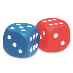 Foam Dice, Dot Dice, Set of 2