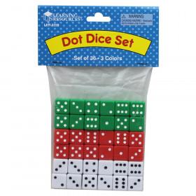 Dot Dice, Set of 36