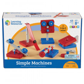 Simple Machines Set, Pack of 5