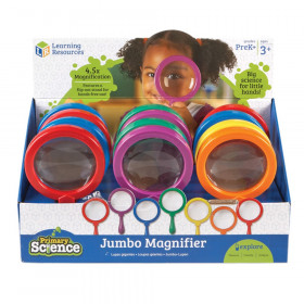 Jumbo Magnifiers, Pack of 12