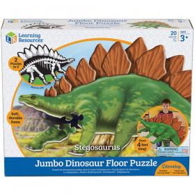 Jumbo Dinosaur Puzzle Stegosaurus