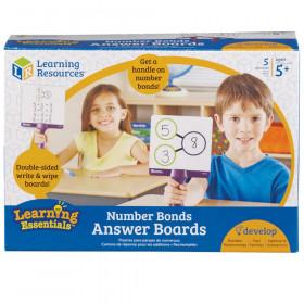 Number Bonds Answer Boards, Set of 5