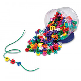 Plastic Lacing Lowercase Alphabet, 260 Pieces