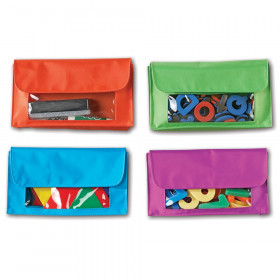 Magnetic Storage Pockets, Pack of 4