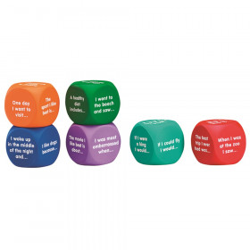Writing Prompt Cubes, Set of 6
