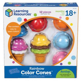 Smart Snacks Rainbow Color Cones