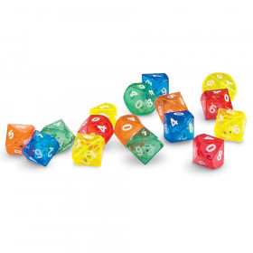 10-Sided Dice in Dice, Pack of 72