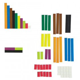 Magnetic Cuisenaire Rods, Pack of 64
