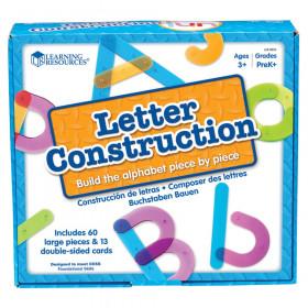 Letter Construction Activity Set