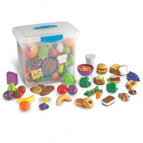 New Sprouts Classroom Play Food Set in Large Tote