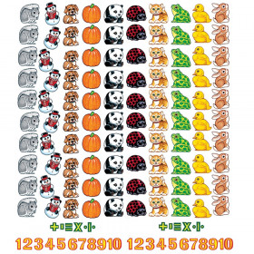 Beginners Counting Flannelboard Set, 132 Pieces