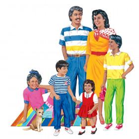 Hispanic Family Flannelboard Set, Pre-cut