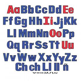 Upper & Lower Case Letters Flannelboard Set, 118 Pieces