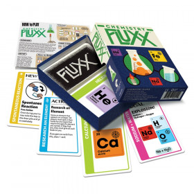 Chemistry Fluxx Card Game