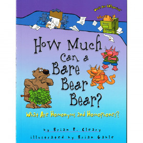 Words Are Categorical How Much Can A Bare Bear Bear What Are Homonyms