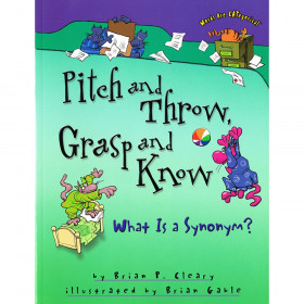 Pitch and Throw, Grasp and Know: What is a Synonym? Book