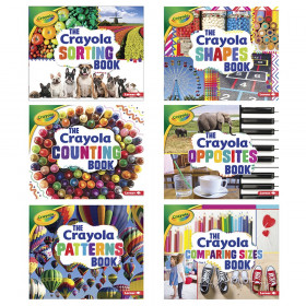 Crayola Concepts, Set of all 6 books