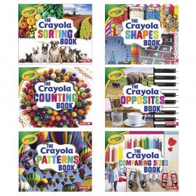 Crayola Concepts 6 Book Set