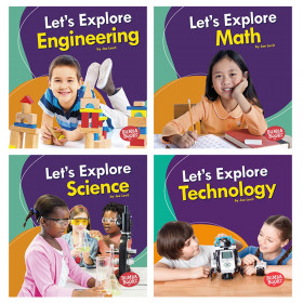 A First Look at STEM, Set of 4 books