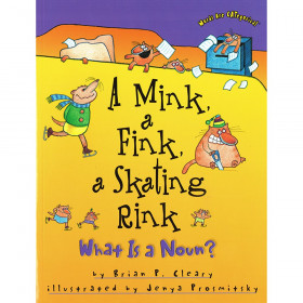 A Mink, A Fink, A Skating Rink: What is a Noun? Book