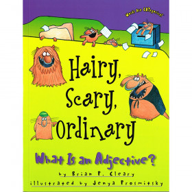 Hairy, Scary, Ordinary: What is an Adjective? Book