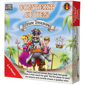 Context Clues-Pirate Treasure Game, Red Levels 2.0-3.5