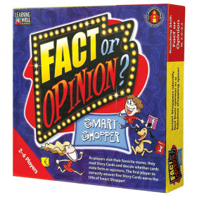 Fact or Opinion-Smart Shopper Game, Red Levels 2.0-3.5